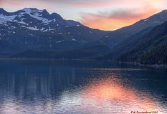 Reflections of a Port Wells Sunset, Alaska (PhotosToArtByMike) Tags: alaska ak fjord insidepassage snowcappedmountains princewilliamsound southeasternalaska portwells