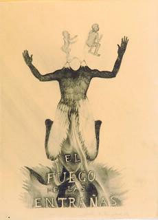 El fuego en las entrañas. Sandra Vásquez de la Horra. Galería AFA. Cortesía de Ch.ACO