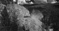 High Line (benkuhns) Tags: fall train colorado silverton locomotive durango steamengine dsng durangosilvertonnarrowgaugerailroad