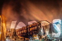 October 3, 2014 (Amanda Catching) Tags: city longexposure morning light streets vancouver doubleexposure east
