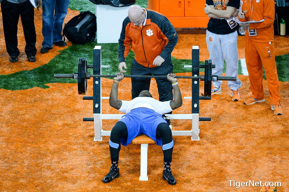 Clemson Photos: 2014, Football, practice, proday, Quandon  Christian