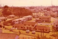 US Navy Housing Area 2, Yokohama, Japan...1978 (Carol and Chris Photography 74) Tags: camera summer japan canon photography us military navy f1 housing nippon 1978 yokohama 1970s kanagawa base honmoku area2 nakaku