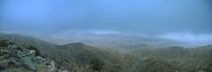 Keys View (in the Smog) (www78) Tags: california park tree palms keys dawn smog view joshua national twentynine