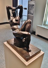Seated Nude (ArtFan70) Tags: sculpture usa art statue america naked nude manchester unitedstates newengland newhampshire nh artmuseum matisse currier henrimatisse curriermuseumofart seatednude strawsmyth