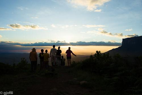 Sunset at Grand Savana