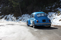 (Nico86*) Tags: alps mountains frenchalps spring march classiccars vintagecars cars