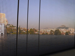 Outlook (Ed Sax) Tags: ausblick raster muster pattern siev glas window fenster athen athens downtown altstadt museum greece griechenland abstract abstrakt mountlycabettus lycabeth λυκαβηττόσ μουσείοακρόπολησ