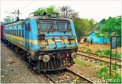 Ludhiana(LDH) WAG-7 #28153 (Ravi_30201) Tags: indian railways wag7 28153 allahabad ludhiana ldh