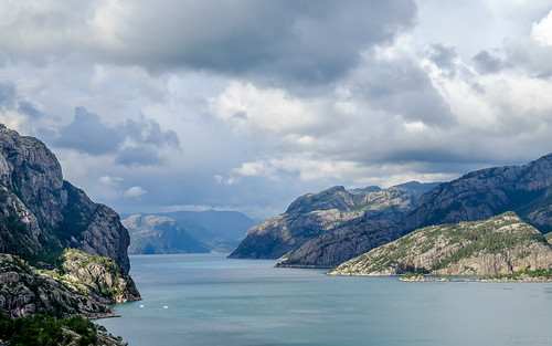 Clouds above Lysefjord