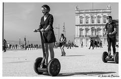 Segway (JOAO DE BARROS) Tags: barros joão segway vehicle street people streetphotography monochrome