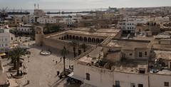 Grande mosquée de Sousse (Pascale Jaquet & Olivier Noaillon) Tags: panorama2 médina vuedensemble sousse gouvernoratdesousse tunisie tn