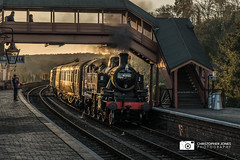 41312 at Bewdley (C.P.JonesPhotography) Tags: bewdley bewdleynorth bewdleynorthviaduct bewdleystation bewdleystationsvr severnvalleyrailway svr severnvalley sunset sunsetphotography railways railwayphotography railway railwayheritage heritagerailways heritage heritagesteam heritagerailway britishrailways britishrailwayheritage britishrailwayswesternregion britishrailwayssteam gwr greatwesternrailway westernregion western westernsteam brw brsteam brlatesteam brwesternregion ivattclass2 ivatt class2mt class2mttank class2 class2tank ivattclass2mttank ivattclass2tank