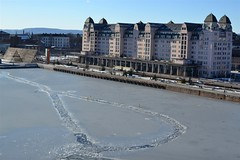 2017-02-24: Turning Circle (psyxjaw) Tags: oslo norway opera operen house dock water frozen ice