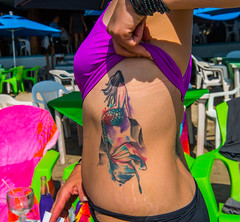 AGD_5886 (RaspberryJefe) Tags: bodyart mexicans mexico2017 zihuatanejo
