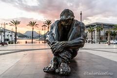 El Zulo. Puerto de Cartagena. (estebanjvr) Tags: cartagena españa spain cartagenamurcia regióndemurcia es puerto de el zulo escultura