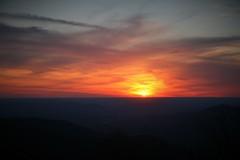 Frozen Head Sunset (Michael Hodge) Tags: fhsp sunset hiking tennessee tennesseestatepark cumberland cumberlandmountains