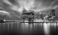 Media City, Salford Quays (J Walton) Tags: longexposure salfordquays nightphotography