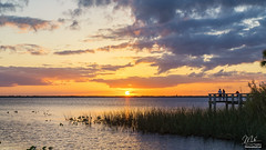 Sunset (Michael Seeley) Tags: beautiful boat clouds fishing florida lakewashington landscape melbourne michaelseeley mikeseeley sunset water weather