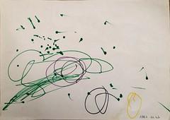 Abel 22 months old (abel's mummy) Tags: toddler drawing art abel toddlerdrawing