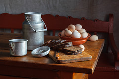 20170225-IMG_0713 (Vladyslav Kucheruk) Tags: stilllife bread countrystyle egges jar lifestyle rural rustic village