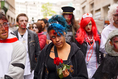My lover gave me a rose before i ate him (Red Cathedral uses albums) Tags: sonyalpha a77markii a77 mkii eventcoverage cosplay alpha sony larp sonyslta77ii slt evf translucentmirrortechnology redcathedral streetphotography belgium alittlebitofcommonsenseisagoodthing activism protest brussel bruxellesmabelle bifff zombifffparade zombifffday brusselsinternationalfestivaloffantasticfilm zombie zombieparade zombiewalk undead thewalkingdead twd blood gore horror eerie brusels
