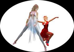 TerraMerhyem_&_Aicha_2016_05 (TerraMerhyem) Tags: femme woman women girl mode fashion belle beauté beauty elegante elegance deux duo two rouge blanc white red femmes jolie mannequin model topmodel terramerhyem merhyem sexy