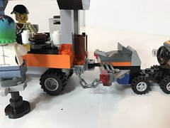 Ramen Cart (KGoodlow) Tags: ramen cart car wheels bowl chop sticks shark food bar lego