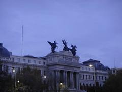 Exploring Madrid (Rckr88) Tags: exploring madrid exploringmadrid spain europe buildings building city cities architecture statue statues sculpture column columns travel travelling