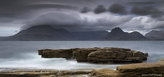 A cloud shroud. (lawrencecornell25) Tags: landscape waterscape elgol skye isleofskye scotland scenery nature outdoors longexposure nikond5 cuillins mountains lochscavaig
