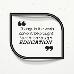 Change in the world can only be brought forth through education (Vikas Gupta Wiley India) Tags: wileyindia vikasgupta innovation technology entrepreneur publisher