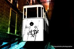 RAIMBOW (Ecinquantotto ( + 1.150.000 ...grazie !! )) Tags: lisboa lisbona abstract colors colori d3000 dreams dream diagonale diagonal portogallo portugal finestre window train tram