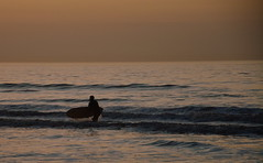 Sunset surfers (vanderven.patrick) Tags: sunset sun goldenhour evening beach sea ocean water watersports waves sky colors colorfull kijkduin theha thehaque holland netherlands surf surfing surfers wavesurfing