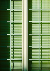 Green Window (macplatti) Tags: xt10 xf1855mmf284rlmois green gruen window fenster rollo urban geschlossen closed shadow schatten graphics grafik rhythm rhythmus dornbirn vorarlberg austria aut