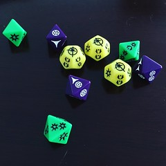 Somebody rolled hot (Star Wars RPG) (Hub☺) Tags: 2017 dice rpg tabletop game starwars