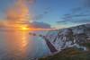 Needles Sunset (keithjherbert) Tags: isleofwight needles sunset uk nature eos500d canon