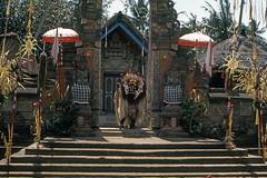 Found Photo - Indonesia Denpasar - a Balinese Temple 1976 (David Pirmann) Tags: foundphoto dpfoundphotoasia1976 temple balinese indonesia denpasar