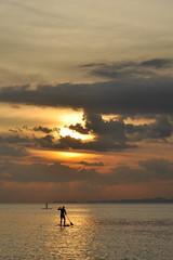 Thailand - Railay - Phra Nang Beach - sunset (Harshil.Shah) Tags: thailand krabi railay sunset stand up paddle board andaman sea