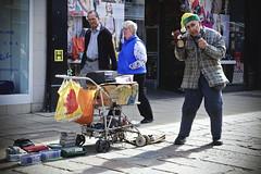 Puppetman [89/365 2017] (steven.kemp) Tags: norwich street people gentlemens walk puppetman performer