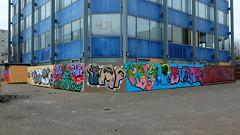 Graffiti (oerendhard1) Tags: graffiti streetart urban art rotterdam zuid mrbasic rosine sloot gang crook penis rasta surch pose