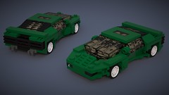 Vector W8 V.2 (Fictitious Pasta) Tags: lego w8 vector magnitude fun build car toy