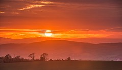 Donegal Sunset. (Ken Finlay) Tags: strabane town tyrone donegal river mourne market summer northern ireland ni uk scenic landscape sperrins fishing nikon d800 street home lifford hills mountains sunset