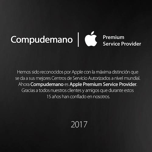 Compudemano ha sido premiado por #Apple y reconocido con la máxima distinción que da a sus mejores Centros de Servicio Autorizados a nivel mundial. Ahora @compudemano es Apple Premium Service Provider. Gracias a todo el equipo de Soporte Apple Compudemano