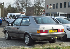 1990 Volvo 340 GL (peterolthof) Tags: peterolthof assen yy27fg volvo 340