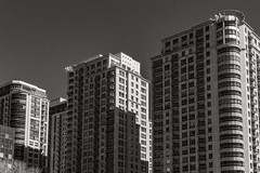 A Look Through Your Window... (SNAPShots by PJW *Join LNP*) Tags: buildings bw bnw noiretblanc shadows monochrome mono architecture lines patterns new life outside dof depthoffield light bright blackwhite blackandwhite windows cityscape