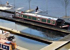 Nb.No.2 Barnaby with No.4 Vanguard (dlanor smada) Tags: grandunion aylesbury bucks chilterns canals basins narrowboats