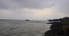 Moody (mala singh) Tags: river water boat clouds bengal india