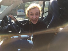 JOANNA (CameRAj Pictures) Tags: joanna joanne smartcar speedster fastcar