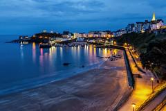 Tenby at blue hour- Pembrokeshire, Wales (dejott1708) Tags: tenby pembrokeshire wales great britain blue hour long exposure harbour cityscape coastline night shot