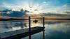 Gone Fishing. (GDMetzler) Tags: river water sunrise fishing mayriver georiga stmarys dock tamron nikon d610 gdmetzler springbreak spring vacation reflections sunburst