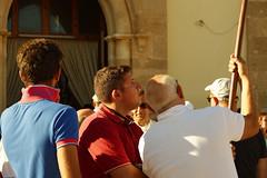 The flag is too high (Andrea Novello) Tags: italy italia marzamemi siracusa syracuse pachino faces light summer estate feast street sicily sicilia